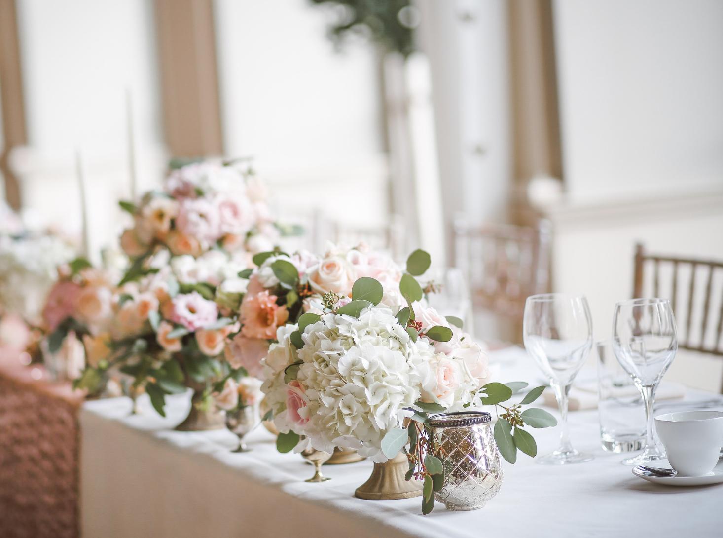 Elegant Flower Centerpieces