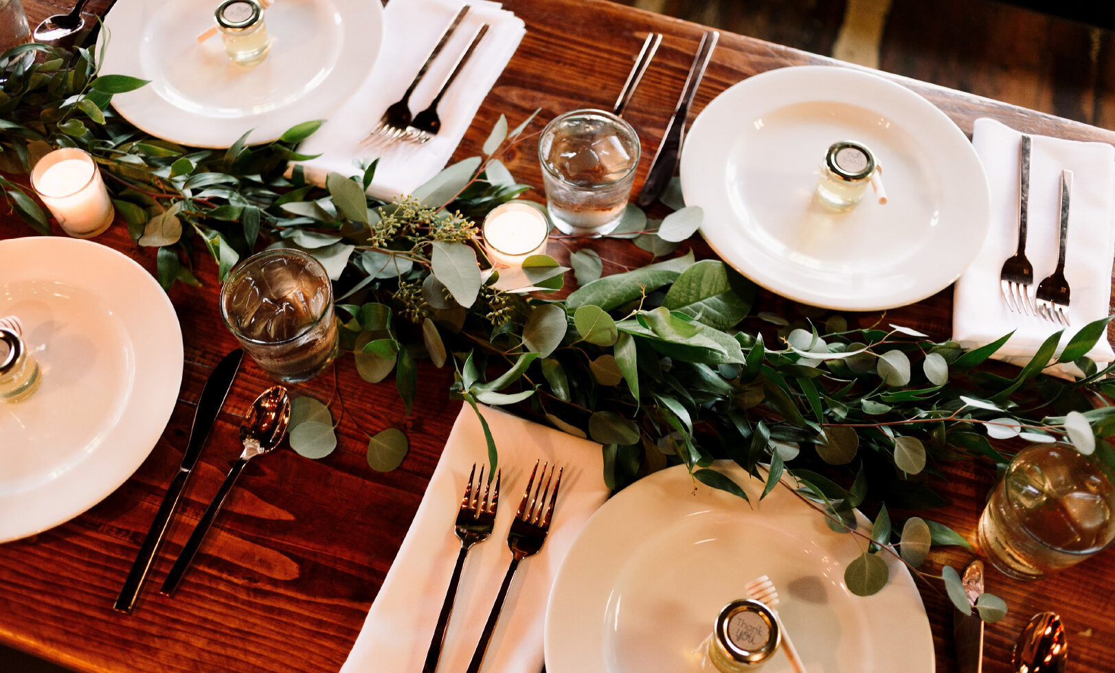 Greenery Table Decor